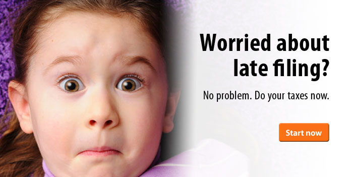 Worried about late filing? Not a problem. Do your taxes at ezTaxReturn now.