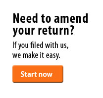 Need to amend your return? If you filed with us and your return was accepted, we make it easy.