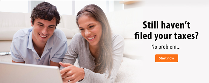 Still haven't filed your taxes? No problem.