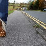Get moving: Walking benefits physical, mental health