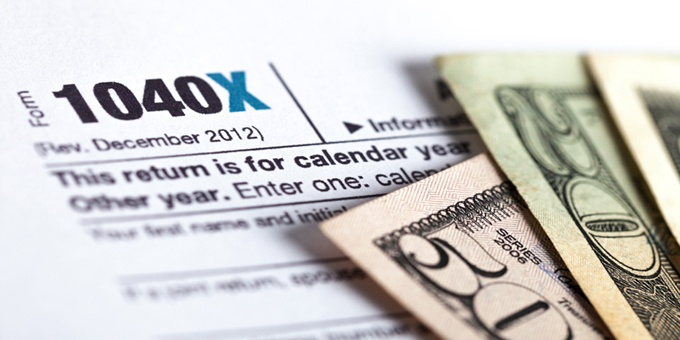 Made a tax mistake?  Amend your return